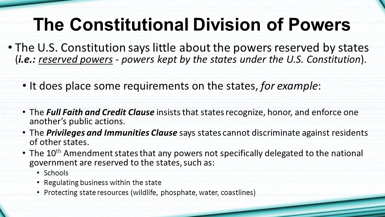 ch  6- federalism  national  state  and local powers