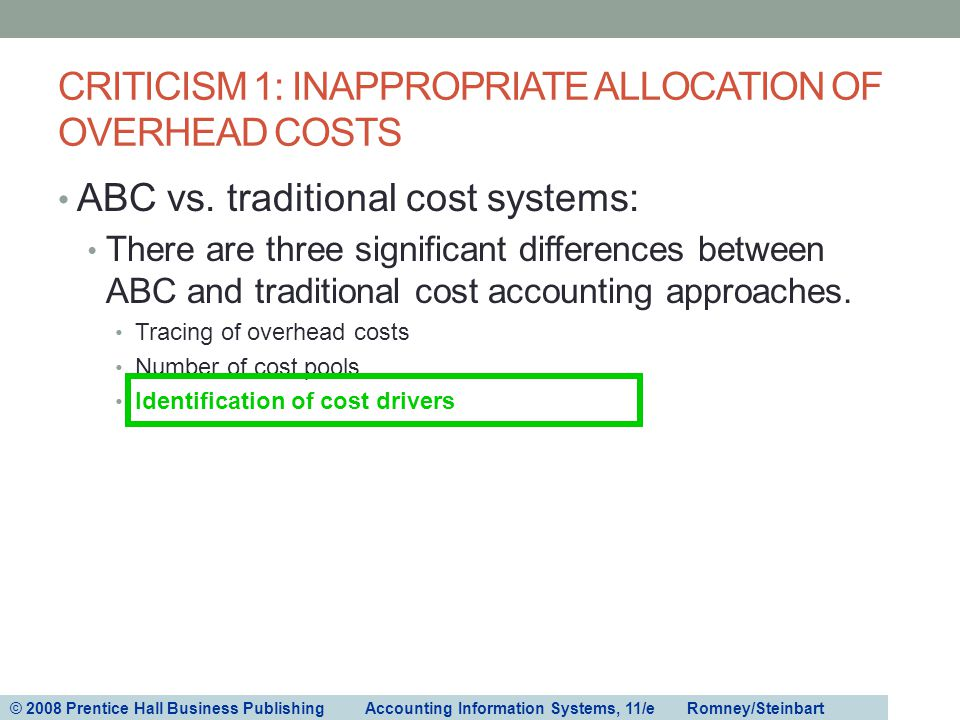 overhead allocation of cost Overhead allocation [pic] overhead allocation overview in many businesses, the cost of overhead is substantially greater than direct costs, so the cost accountant must expend considerable attention on the proper method of allocating overhead to inventory.