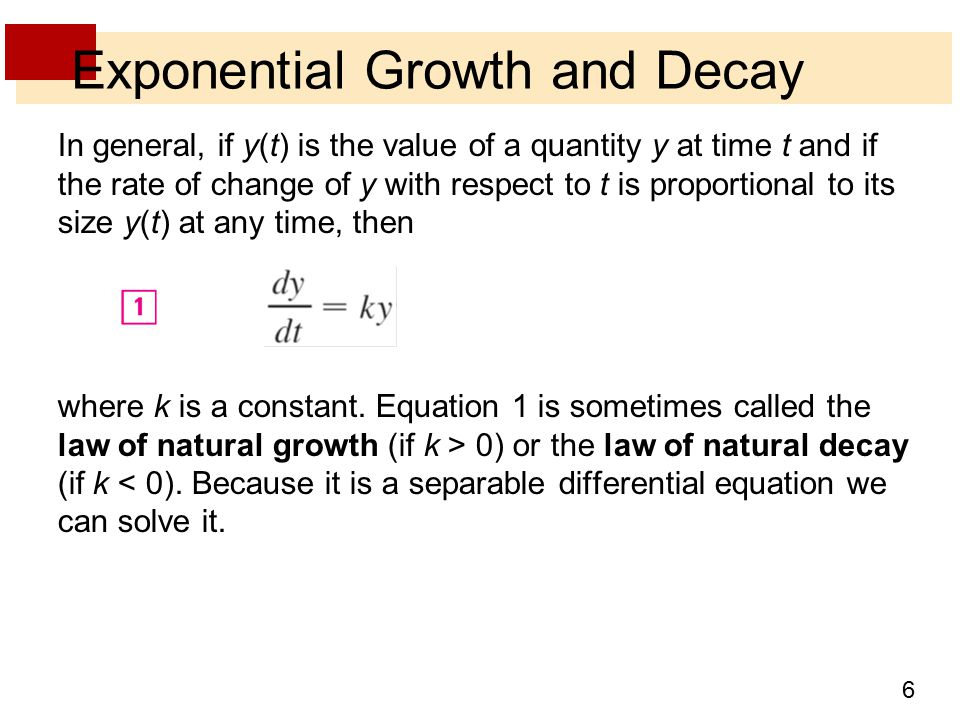 exponential growth and decay Learn how to analyze and manipulate exponential functions and expressions in order to study their rate of change.
