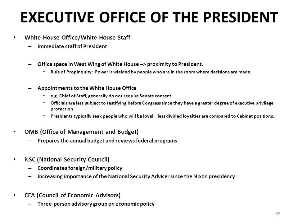 Institutions of Government: Congress and the Presidency - ppt download
