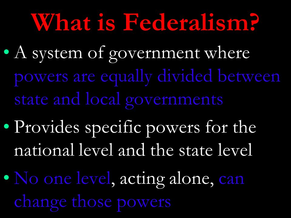 what is power of the state