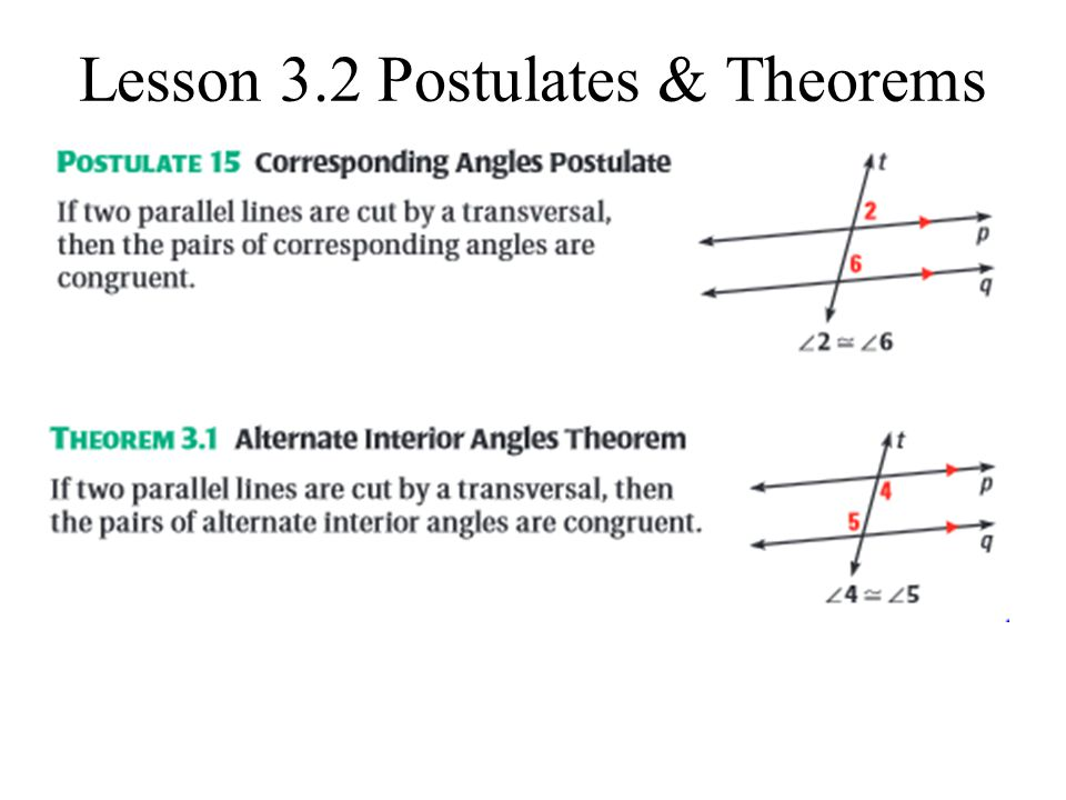 Identify the type of angles ppt download for Consecutive exterior angles theorem