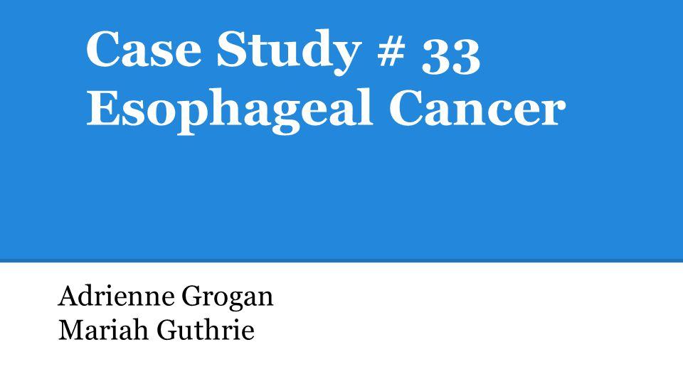 case study cancer treatment