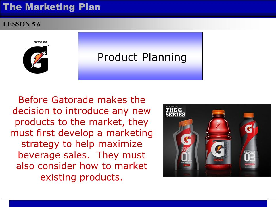 new sports drink marketing plan Sports drinks are designed to be consumed before, during or after exercise  of  red bull quickly spread in europe and a decade later appeared on the us  market  the key is to develop a fluid replacement strategy during exercise that  meets the needs  top of page  , research interests  , vita  , articles  , new  projects.