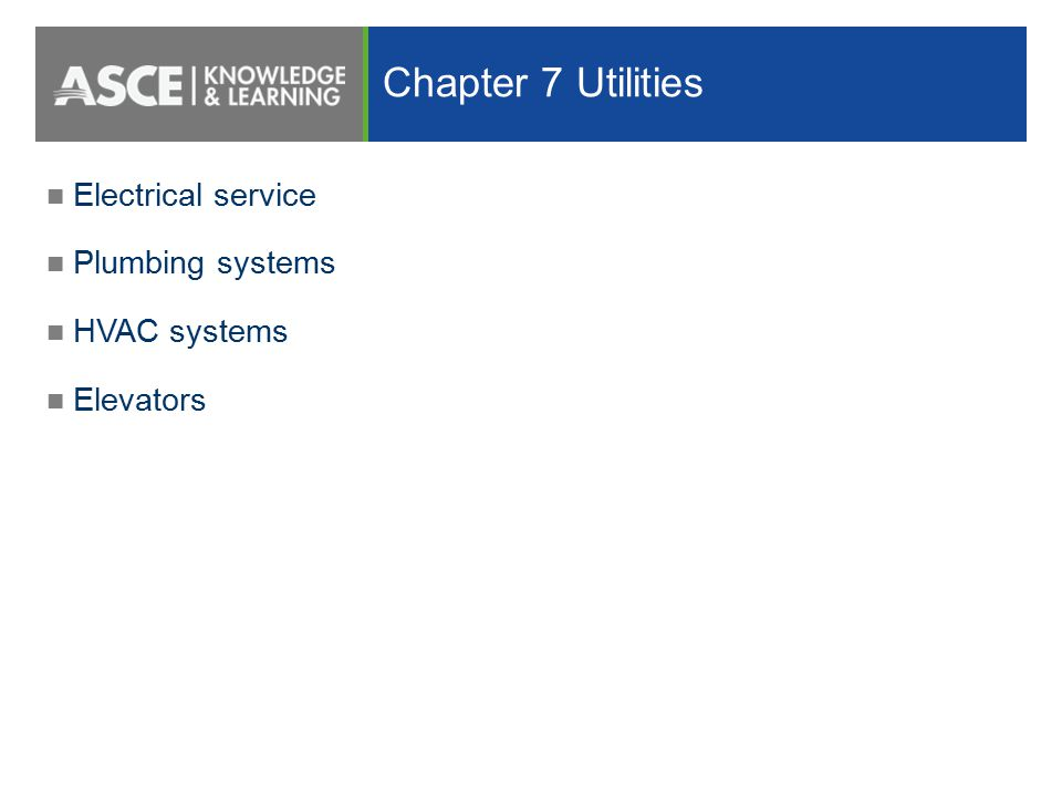 Designing for flood loads using asce 7 and asce ppt video online 57 chapter 7 utilities electrical service plumbing sciox Gallery