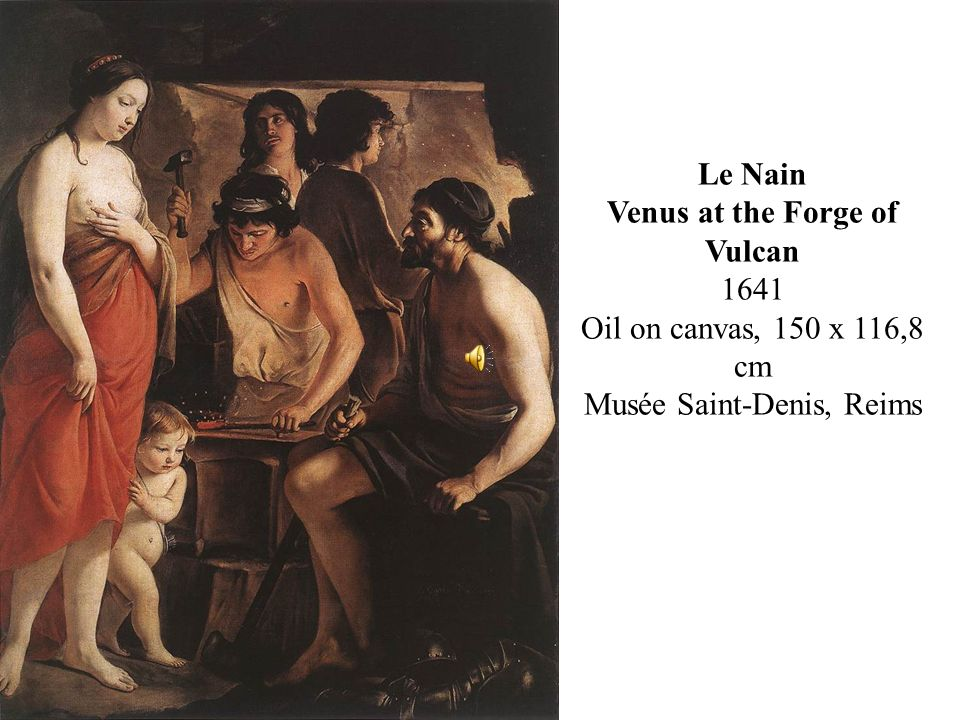 Venus at the Forge of Vulcan