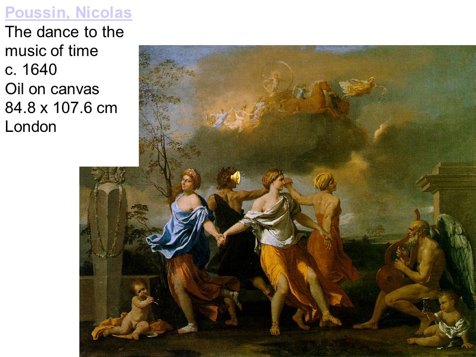 Poussin, Nicolas The dance to the music of time c