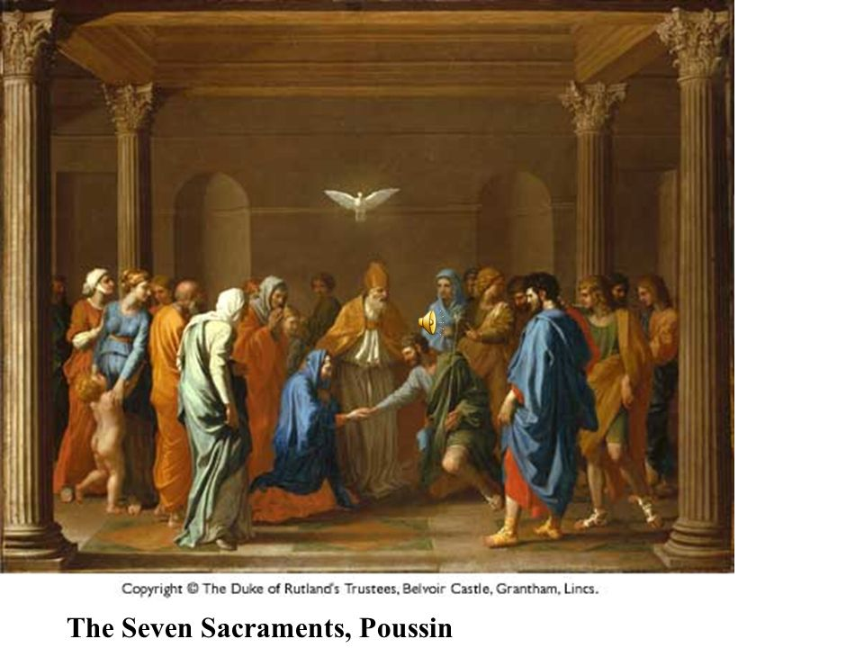 The Seven Sacraments, Poussin
