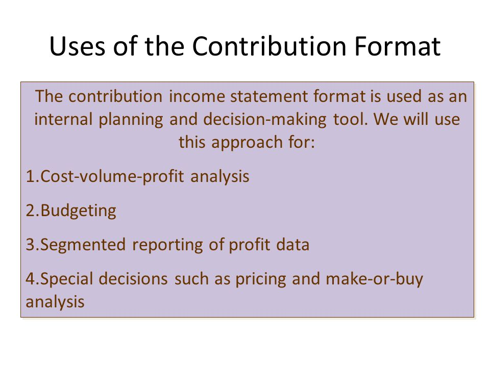how to make traditional format income statement