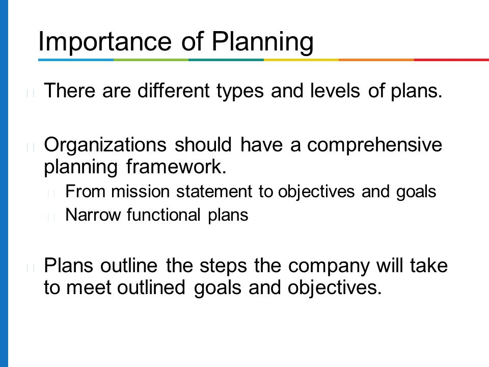 The Importance of Strategic Management vs. Strategic Planning