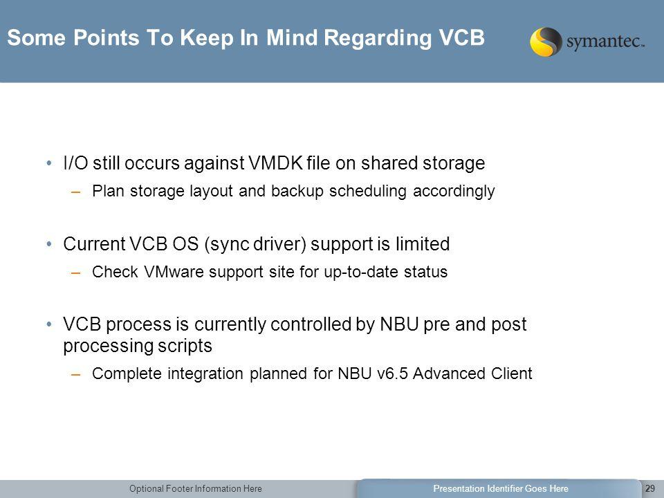 Non-Disruptive Backup of VMware Environments using Veritas ...