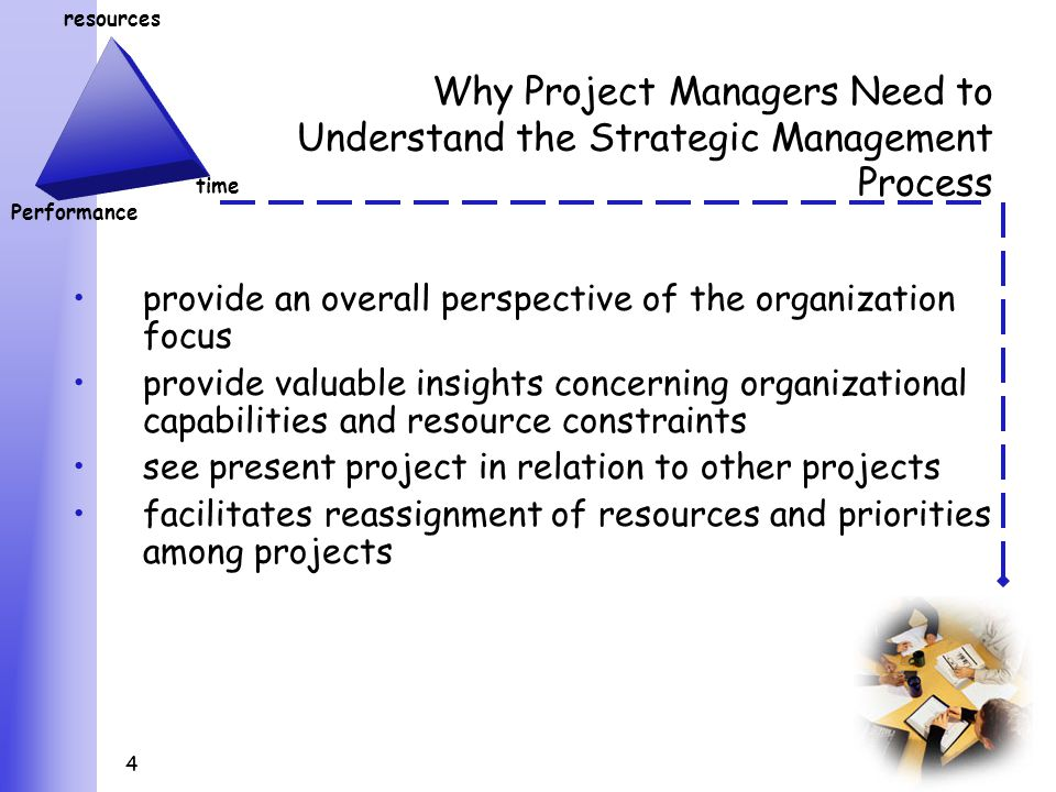 the importance of project management in organizational strategy Learn why implementing a research-based change management strategy for project initiatives drives results  within the organization change management is the.