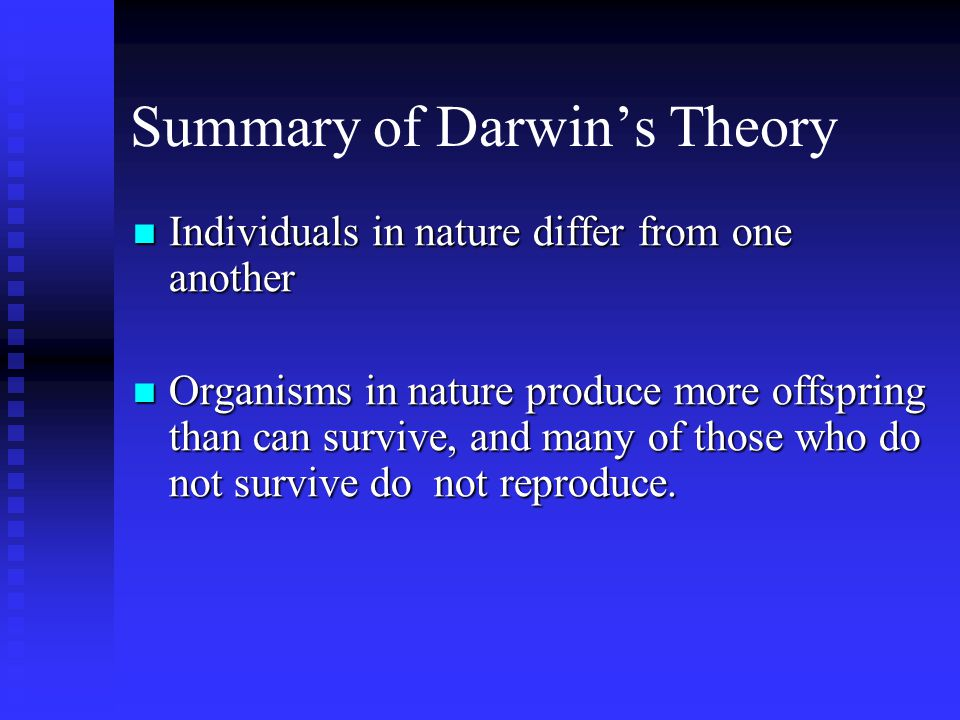 A Brief Summary of Lamarck's Theory of Evolution