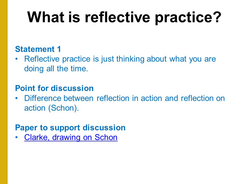 assignment302 what is reflective practice