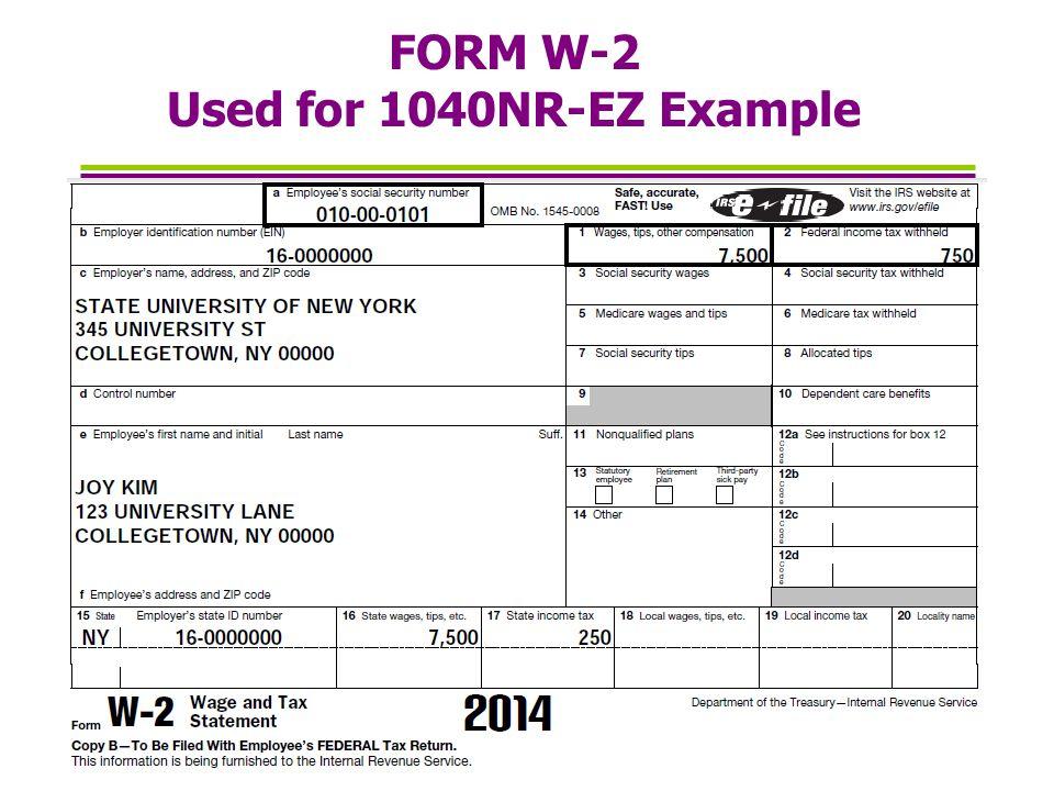 W2 Form Examples Mersnoforum