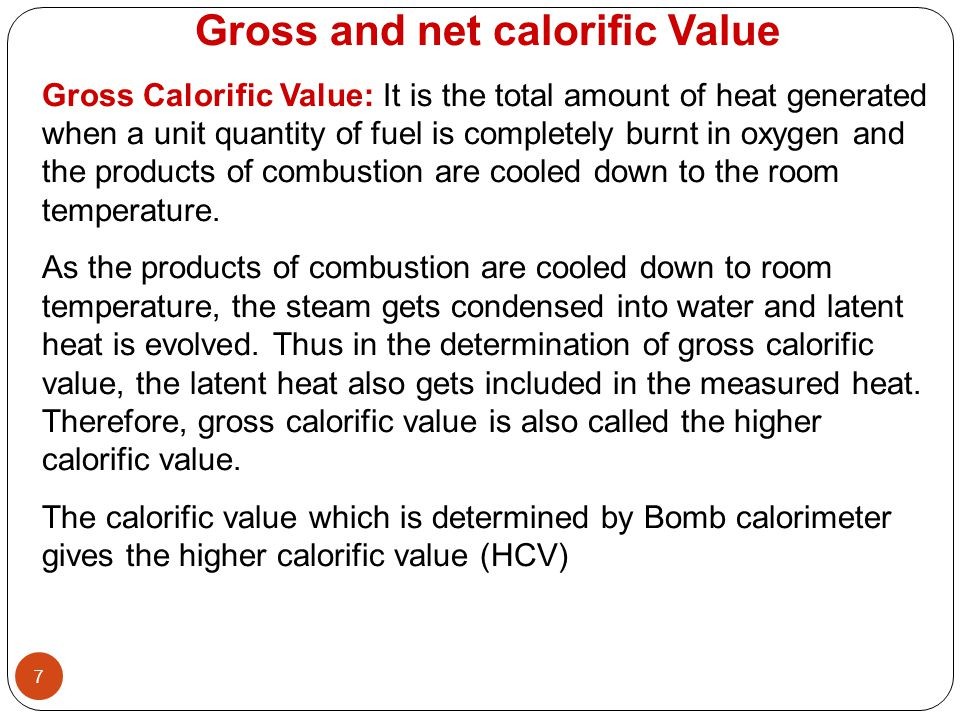 Latent Heat Value Of Natural Gas