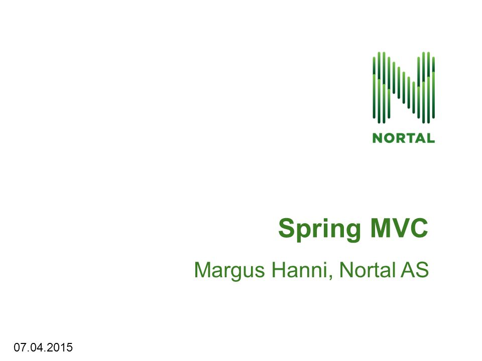 Spring mvc margus hanni nortal as ppt video online download 1 spring mvc margus hanni nortal as malvernweather Choice Image