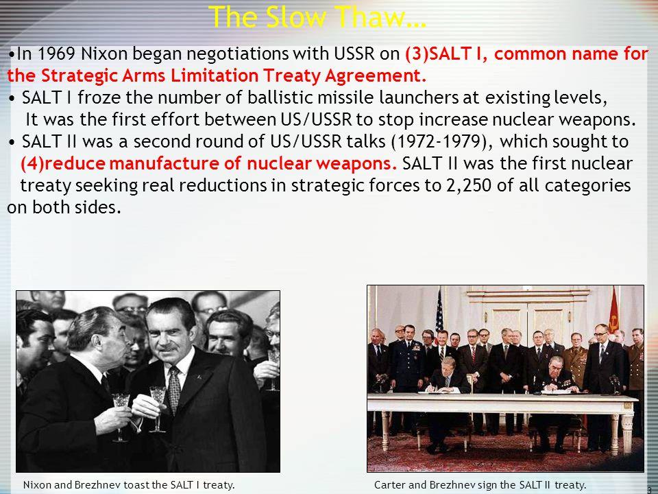 The cold war us vs union of soviet socialist republics democracy vs in 1969 nixon began negotiations with ussr on 3salt platinumwayz