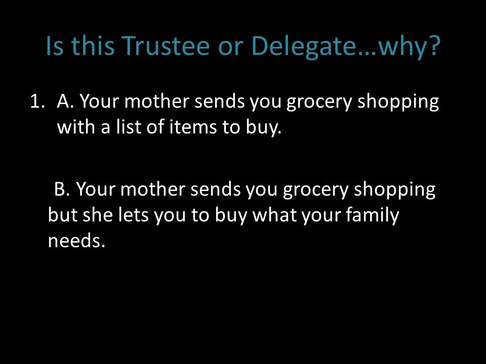 Trustee vs. Delegate: A False Dichotomy?