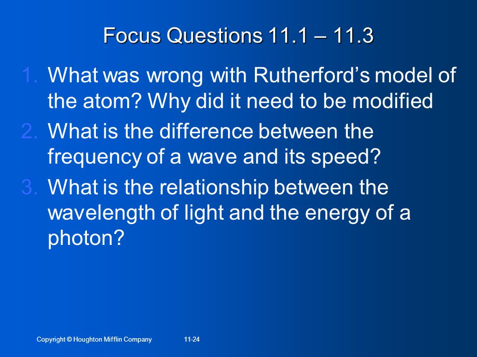 describe the relationship between wavelength and frequency of light