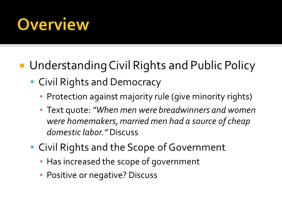 civil rights and public policy Draft agenda now posted see below mcf members, and the american public at large, have recently been confronted and.