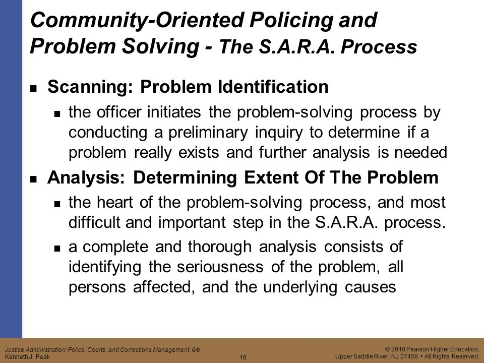incident driven policing