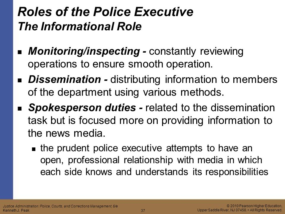 roles of police and media Chapter 1 of this report describes the social media strategy of the toronto police  roles as helping law enforcement executives share information with each.