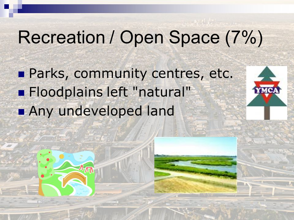 Recreation / Open Space (7%)