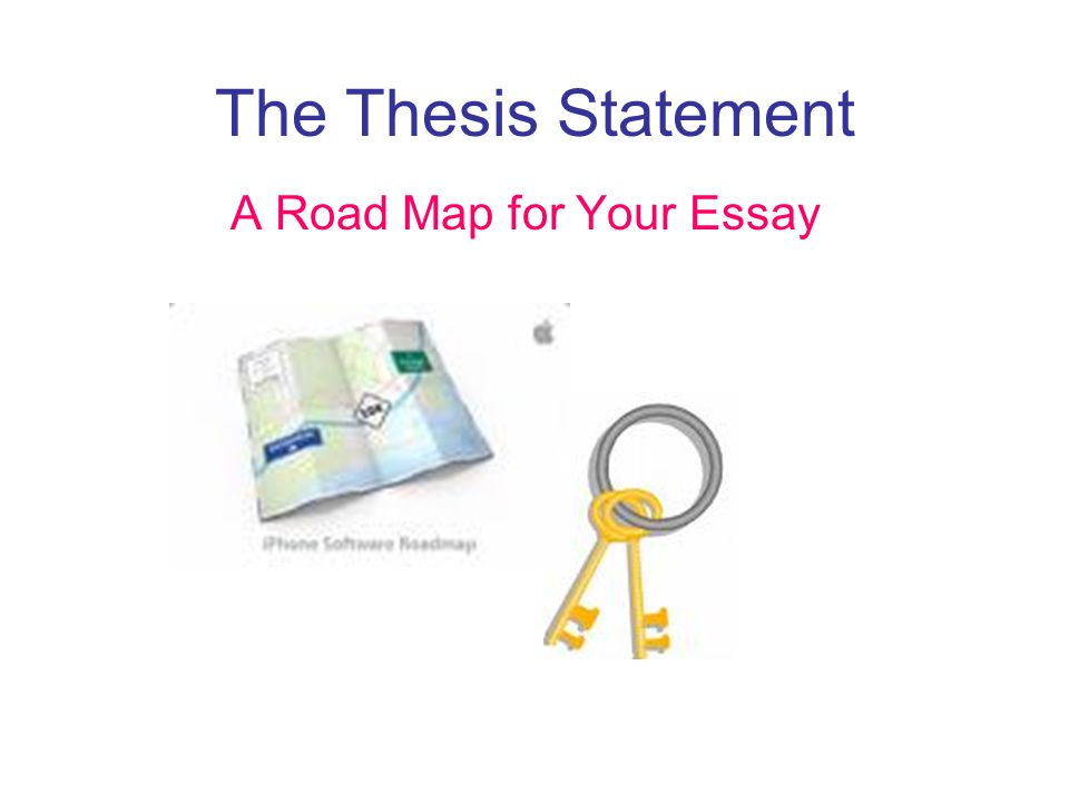 what is a thesis and road map Twelfth grade lesson a road map for research: completing a                 betterlessoncom/lesson/585015/a-road-map-for-research-completing-a-thesis-generator-and-thesis-topic-sentence-frame.
