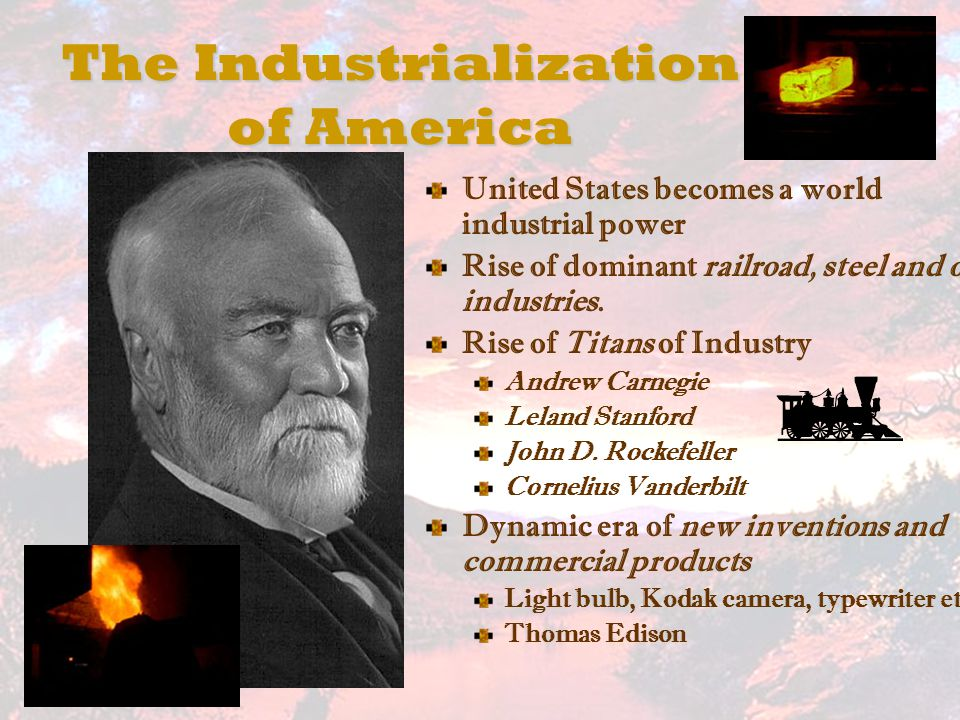 an analysis of the impact of andrew carnegie in the growth of industry in united states of america Open borders brought andrew carnegie and andy grove  innovation better than the united states,  creates jobs and contributes to economic growth.