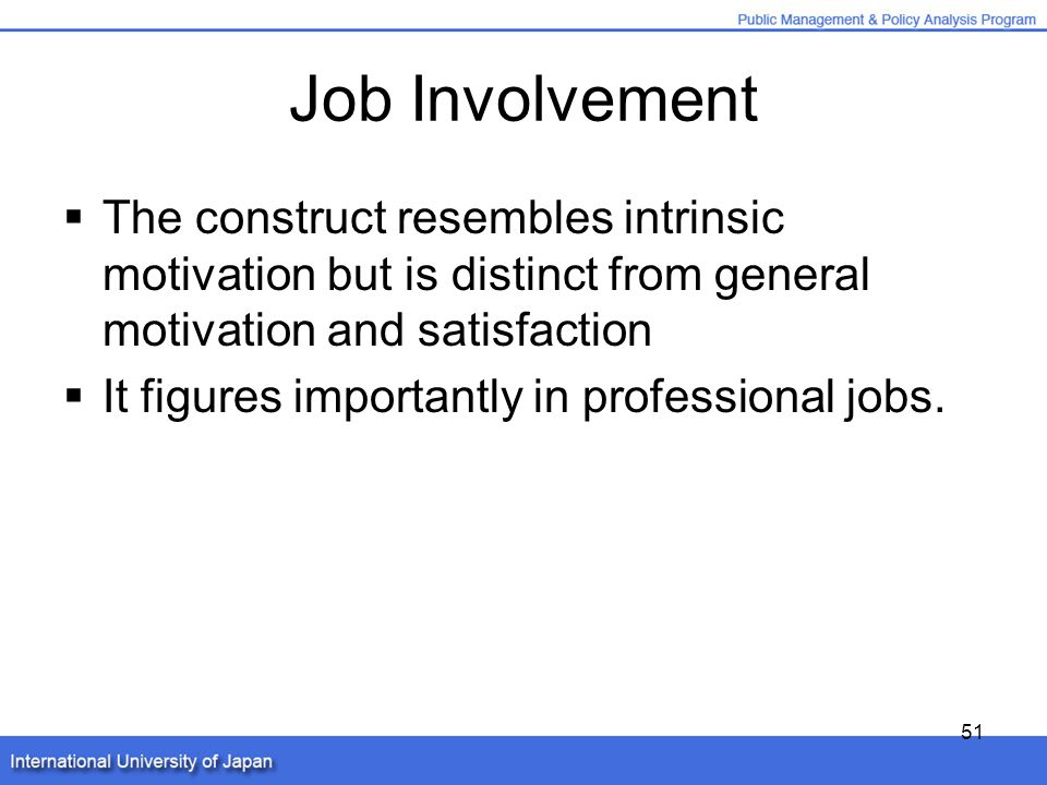 normative commitment and job involvement relationship
