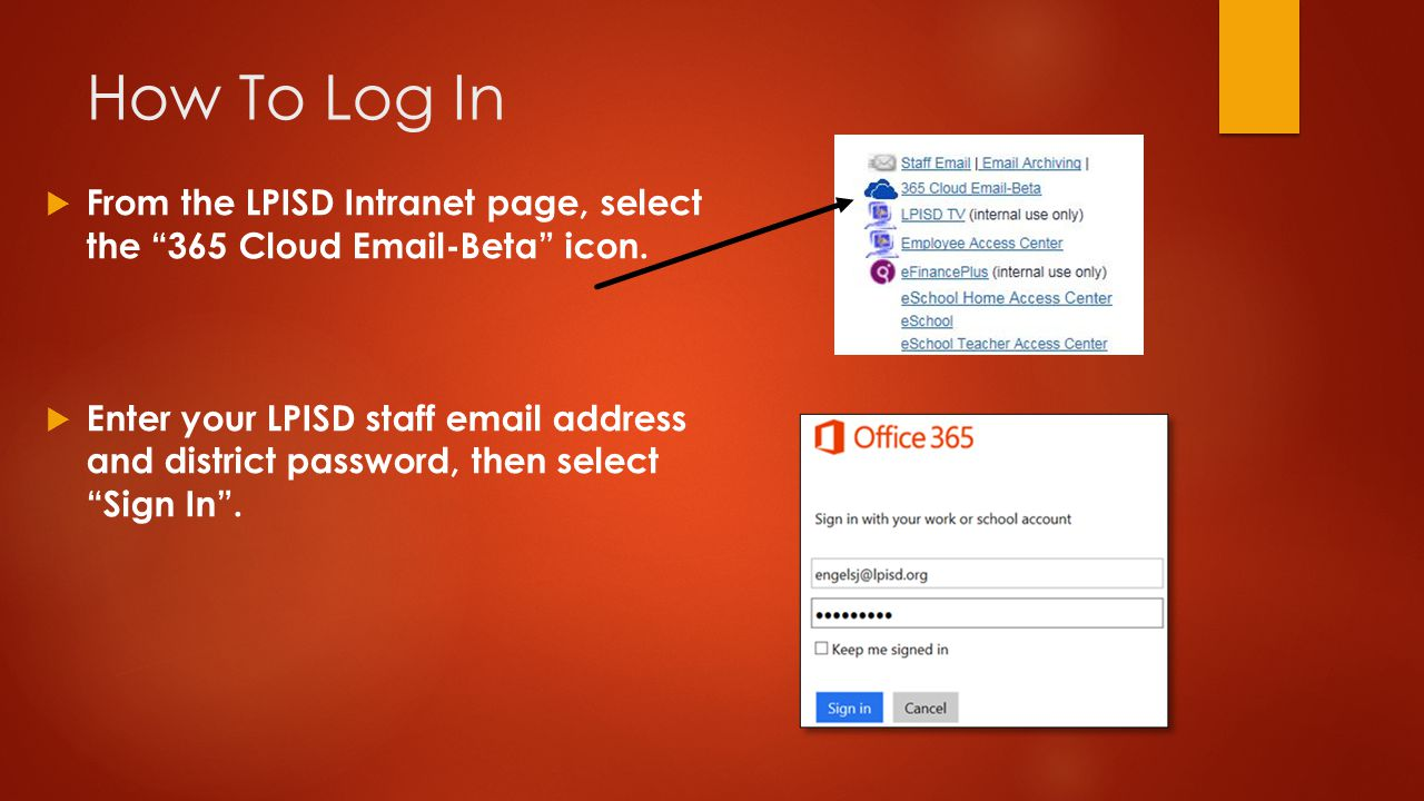 login 365 email