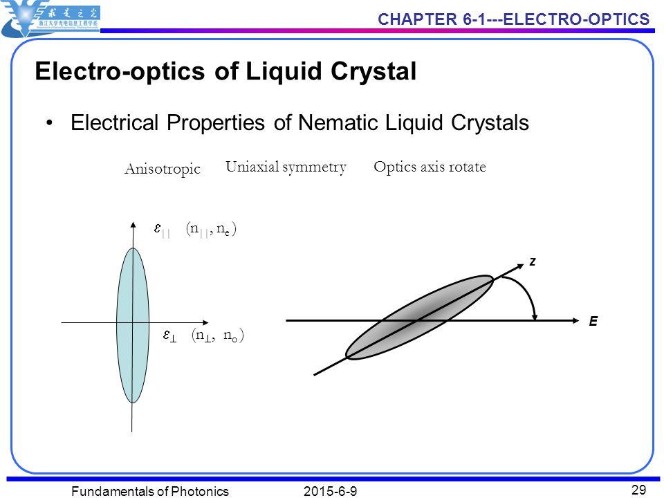 properties of liquid crystals pdf