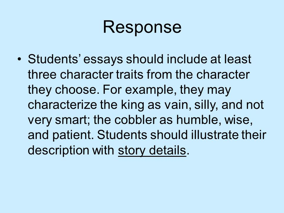 negative personality traits essay culinary college examples bes on ...