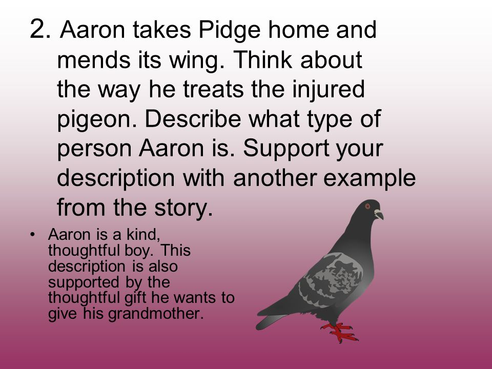 Aaron's Gift by Myron Levoy Review. - ppt video online download