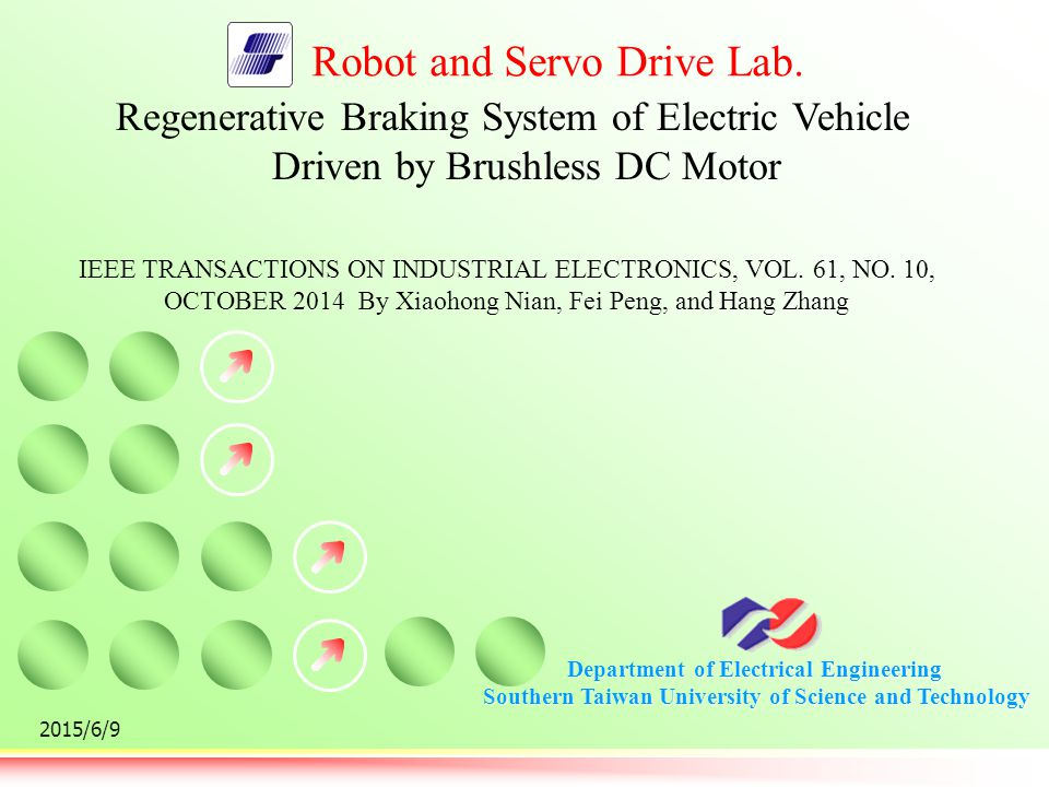 Regenerative Braking System of Electric Vehicle