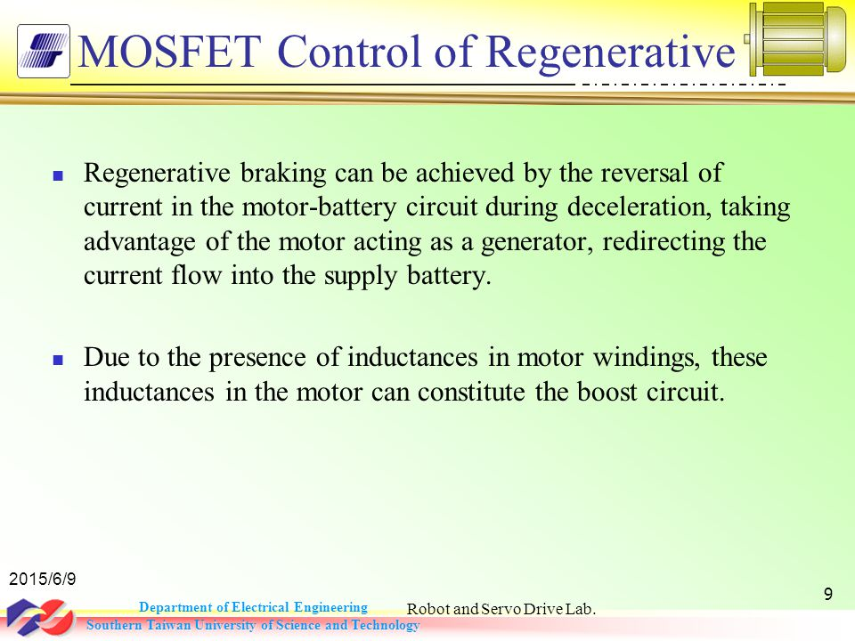 regenerative braking of bldc boost