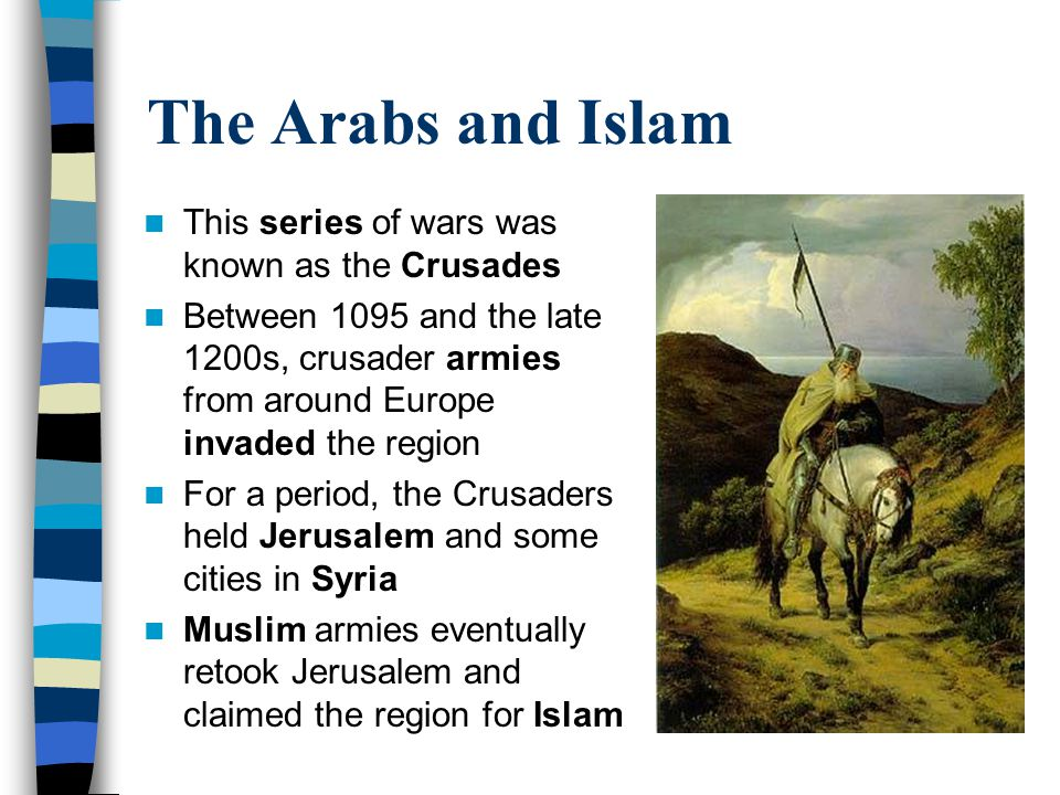 Two faces of holy war - christians and muslims (1095-1270s) Essay