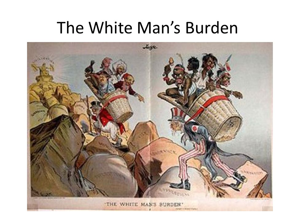 white mans burden world history The white man's burden is kipling's stark warning about the rudyard kipling's white mans burden (1899 crash course world history #35.