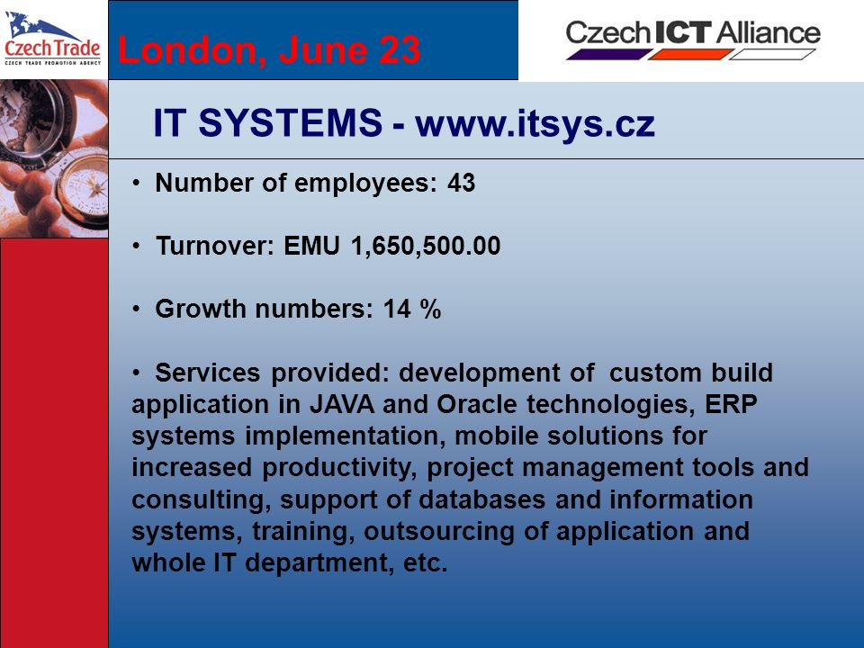 IT SYSTEMS - www.itsys.cz