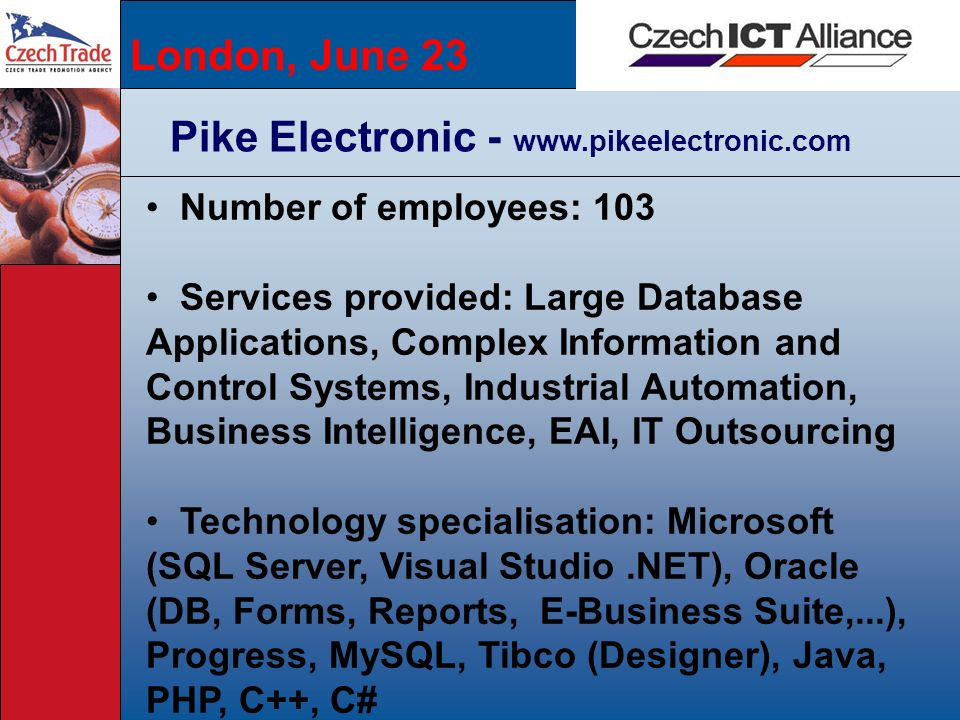 Pike Electronic - www.pikeelectronic.com