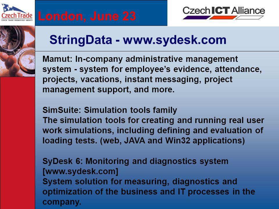 StringData - www.sydesk.com