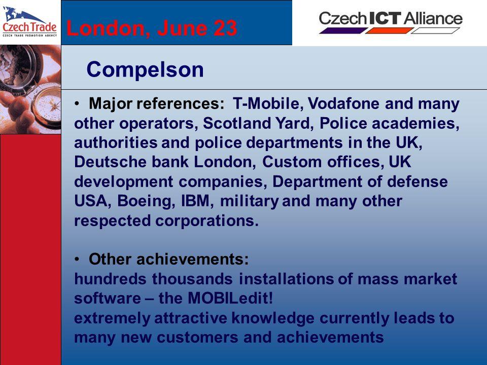 London, June 23Compelson.