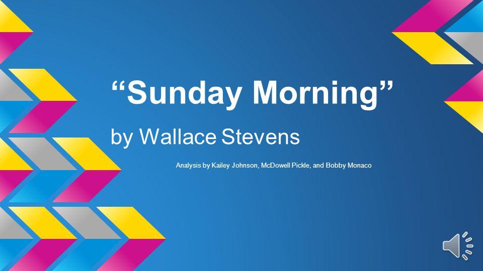stevens sunday morning analysis