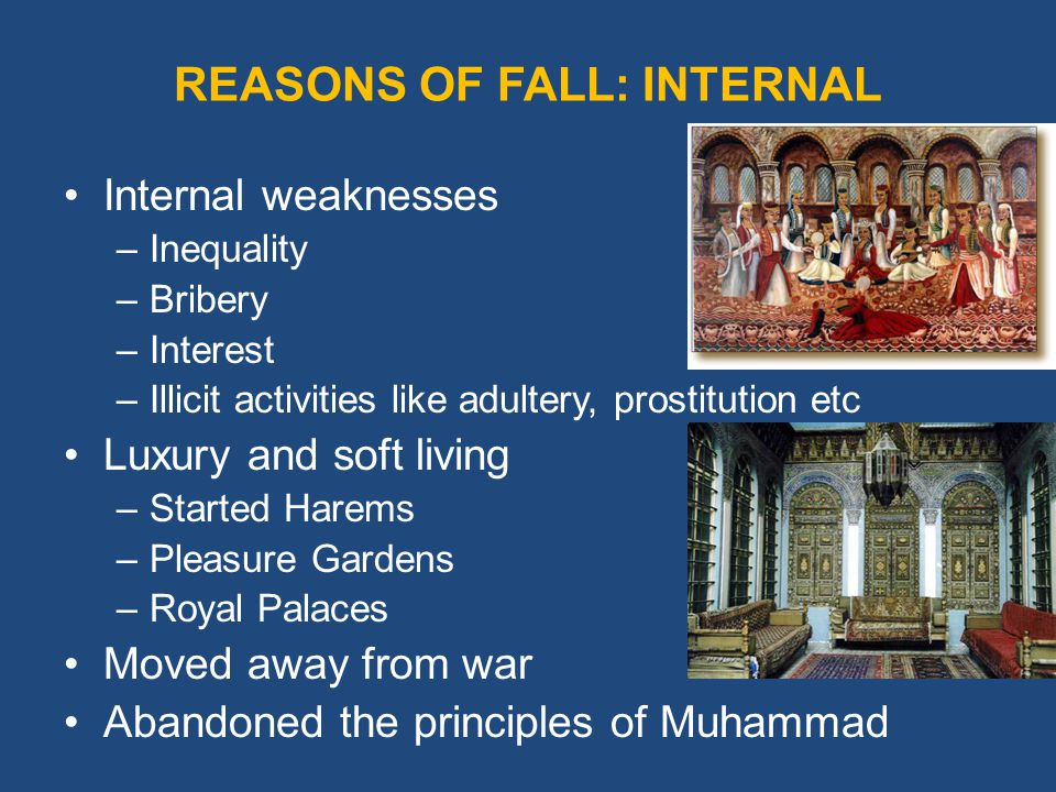 Reasons why great societies fall essay