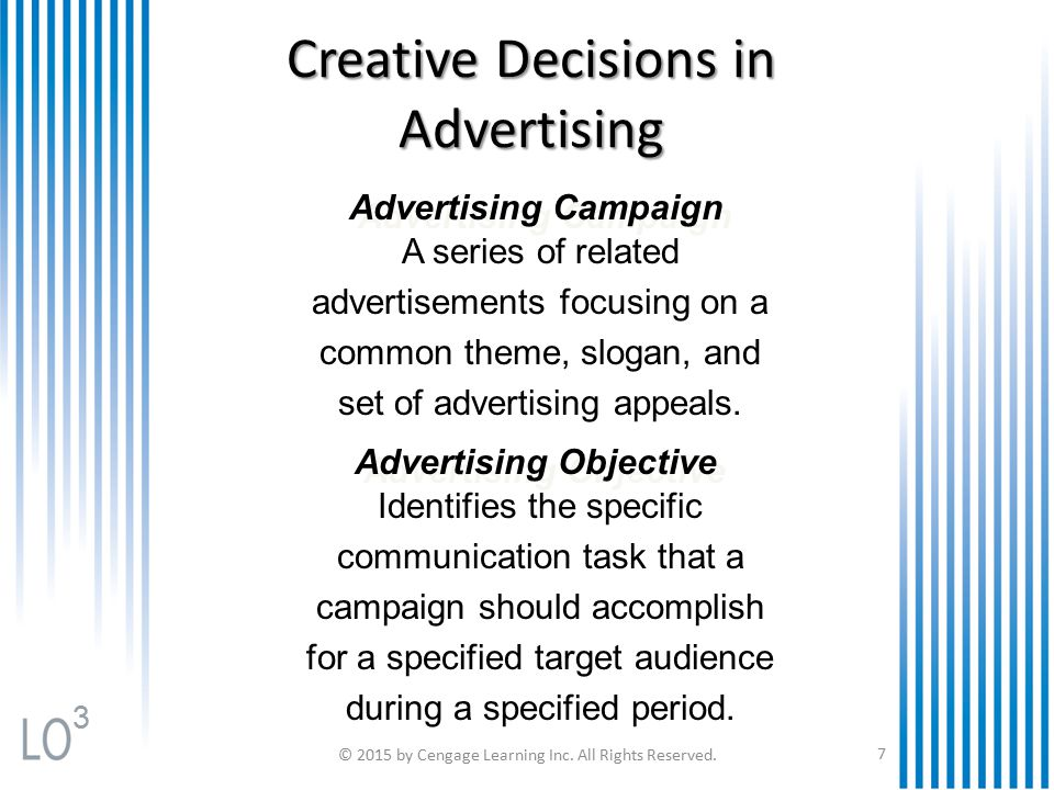 Advertising Objectives, Strategies & Tactics
