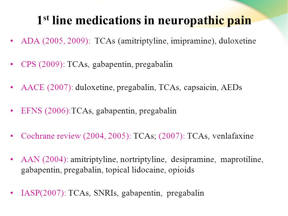 pregabalin cochrane reviews