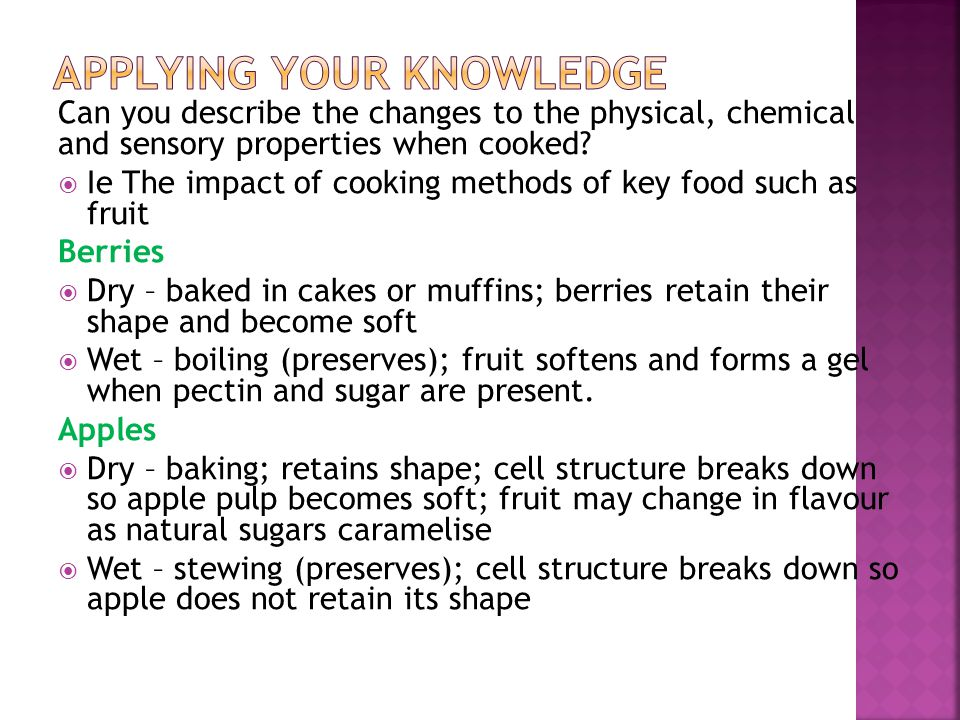 VCE FOOD & TECHNOLOGY EXAM REVISION ppt download