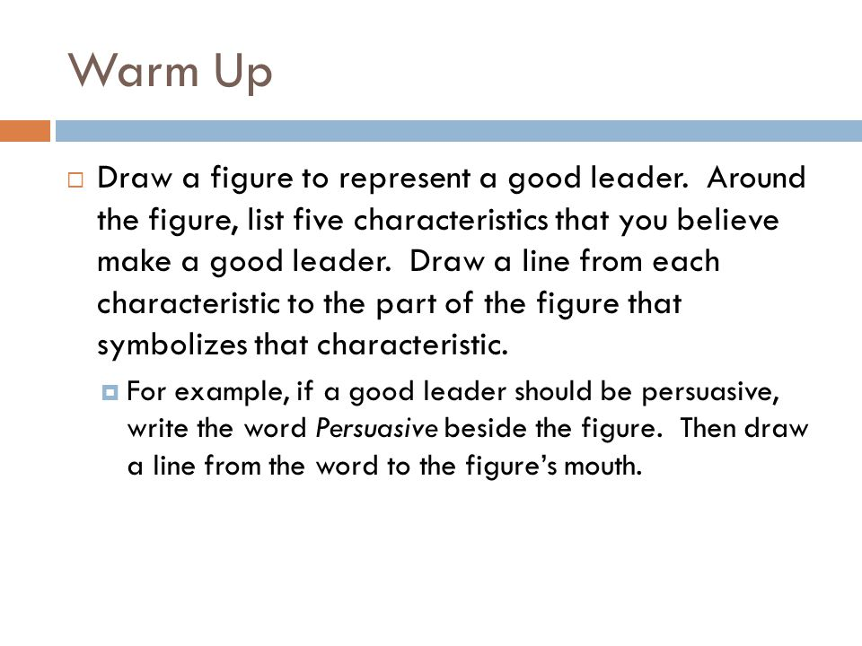 Qualities Of Good Line Drawing Algorithm : Warm up draw a figure to represent good leader around