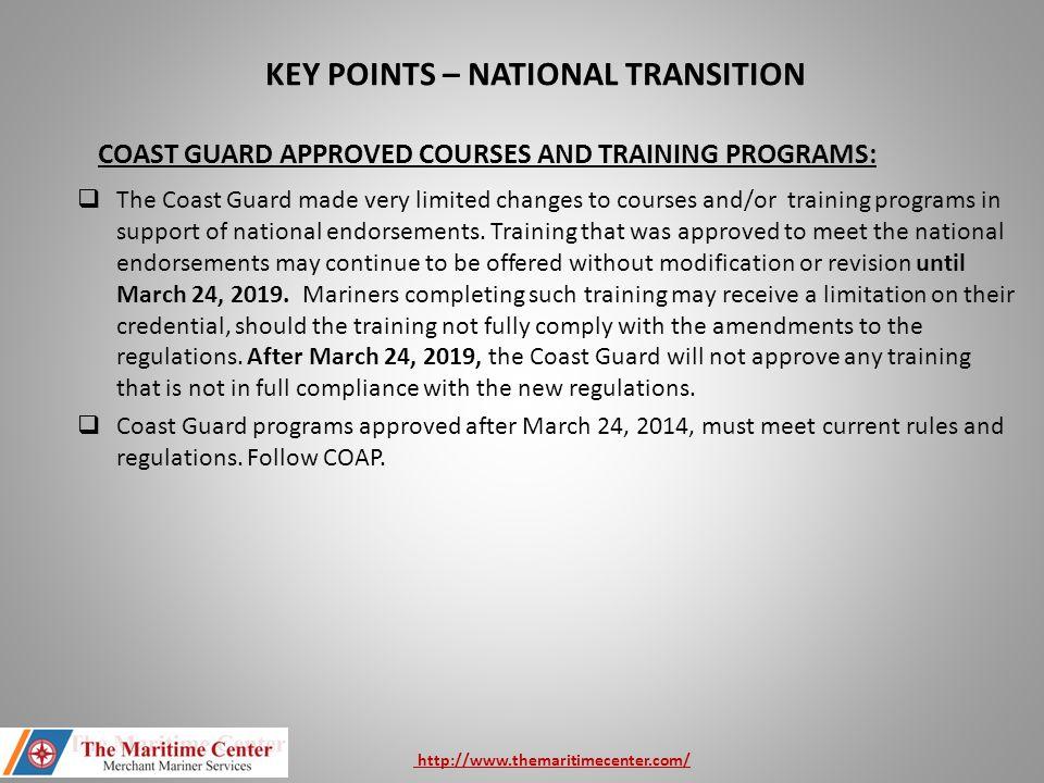 coast guard rules and regulations manual